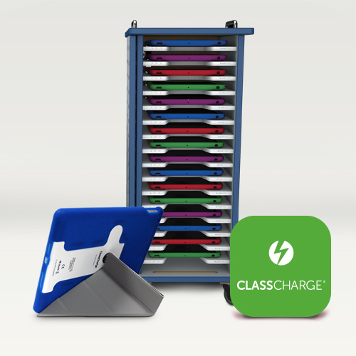Battery Charging Station >> Wireless Charging for iPad Air / Air 2: Classroom Set 16 • ClassCharge