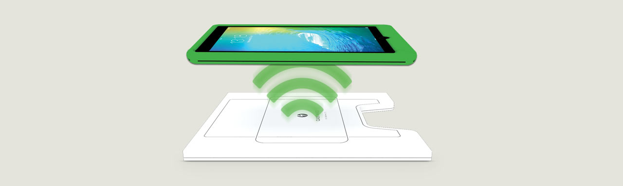 Wireless Charging for iPads